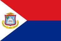 Flagge Sint Maarten