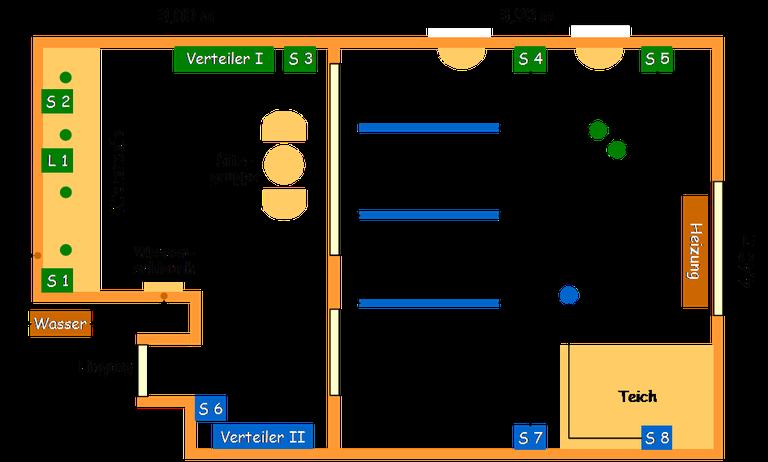 Technischer Plan Großterrarium