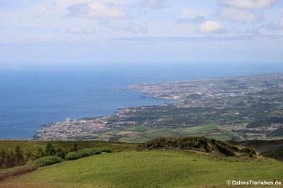 Blick auf Ponta Delgada