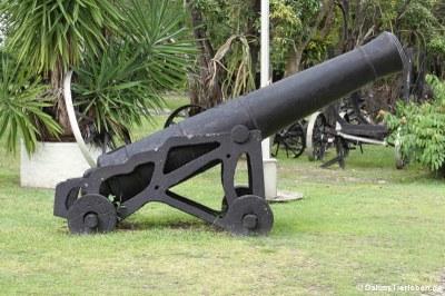 Kanone aus der Kolonialzeit