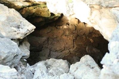 In dieser Höhle südlich von Rincon haben die Arawak-Indianer Schutz gefunden