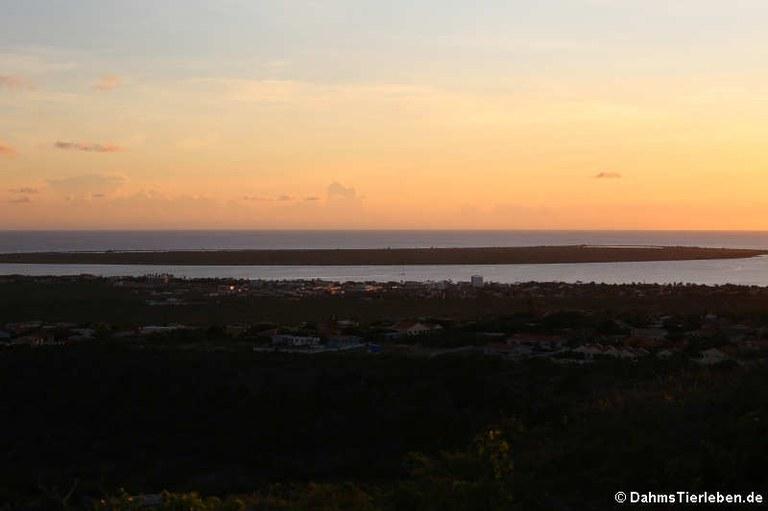 Sonnenuntergang auf Bonaire
