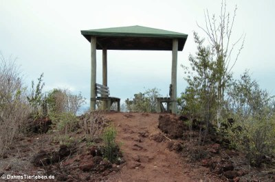 Der Aussichtspunkt Mirador de las Lagrimas