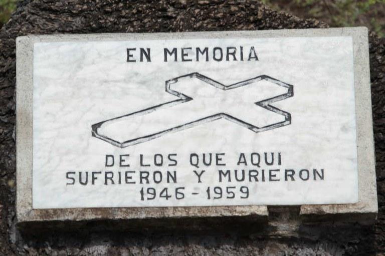 El Muro de las Lágrimas - Gedenktafel