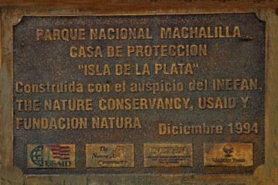 Die Isla de la Plata als Teil des Nationalpark Machalilla.