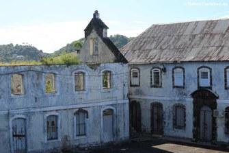 Der Innenhof von Fort George