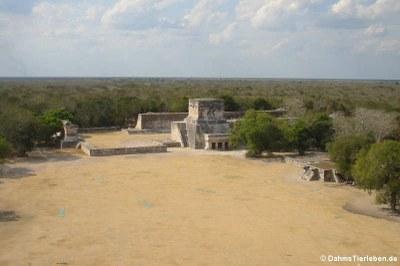 Ausblick von El Castillo