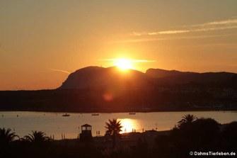 Sonnenaufgang am Golfo di Marinella