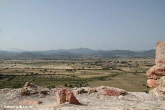 Blick in Richtung Monte Limbara