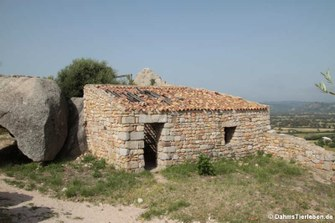 Haus im Castello di Pedres