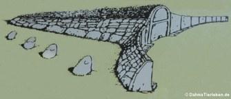 Modell des Gigantengrabes