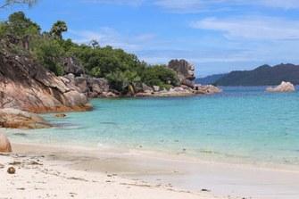 Strand auf Curieuse