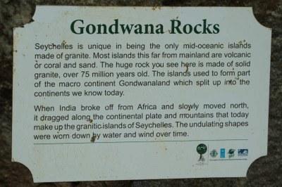 ein Überbleibsel des Urkontinents Gondwana