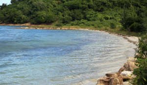 Strand auf Antigua