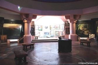 Blick in die Nibelungenhalle